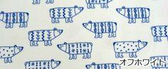【楽天市場】ネル生地 北欧調 ☆シロクマさん♪☆グレー/オフホワイトカラー 綿100% 綿生地 しろくま アニマル 動物模様 【売れ筋】 10P05Nov16:ほのぼの手-ami