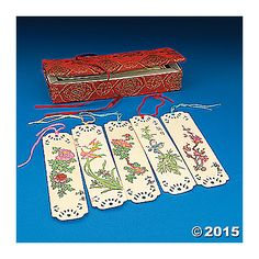 Oriental Bookmarks $4.99/doz