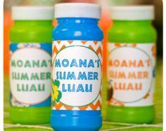 Luau Bubble Wrappers; Hawaiian Summer Party; Luau Birthday Party