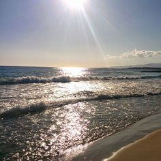 Pirgaki #beach! Idyllic scenery while the sun sets...!  Photo credits: @la_eli87