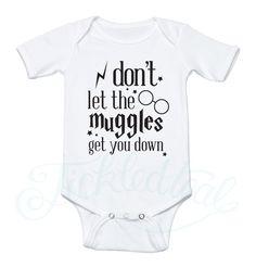 Wizard Inspired Baby Bodysuits