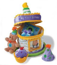 Baby's My First Birthday Cake Playset - baby Gund $17.95
