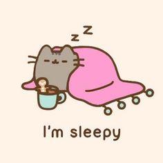 Pusheen - I'm sleepy! Gato Pusheen, Pusheen Love, Pusheen Plush, Pusheen Stuff, Chat Kawaii, Kawaii Cat, Cat Wallpaper, Kawaii Wallpaper, Kawaii Drawings