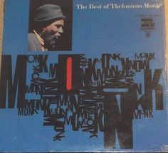 The Best Of Thelonious Monk Sealed Vinyl Jazz Record Album by RASVINYL on Etsy