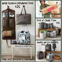 Fall/Winter 2017 hostess rewards! Thirty-One offers the best hostess rewards on the planet, y\'all! #ilovemybaglady