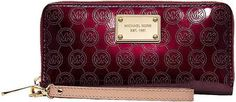 Michael by Michael Kors Tech Continental Mirror Metallic Monogram Wristlet - Lyst