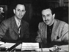 Walt and Roy Disney establish The Disney Brothers Studio in 1923.