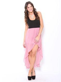 Chiffon High Low #Dress