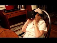 90 year old grandmother tries the Oculus Rift - YouTube 90 year old grandmother tries the Oculus Rift