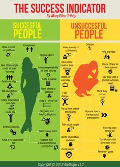 Success Indicator Infographic