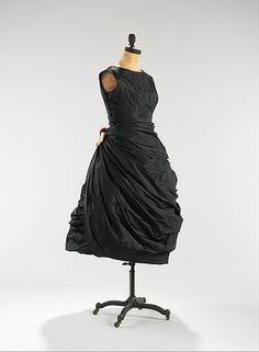 Cocktail dress |House of Balenciaga  (French, founded 1937) | Designer: Cristobal Balenciaga (Spanish, 1895–1972) | spring/summer 1956