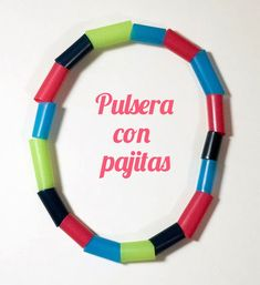 Cómo hacer pulseras con pajitas Arts And Crafts, Diy Crafts, Diy For Kids, First Birthdays, Activities For Kids, Marie, Education, Craft Ideas, Recycling