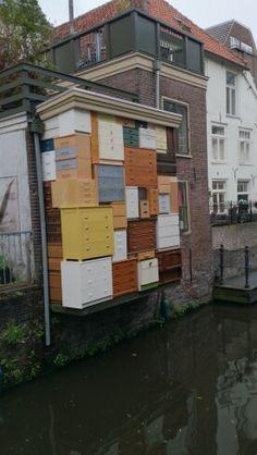 Closet closet on the wall.. #Amersfoort, the Netherlands