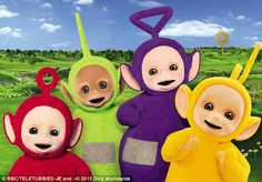 A new line of toys modelled after the four Teletubbies, Tinky Winky, Dipsy, Laa Laa and Po...