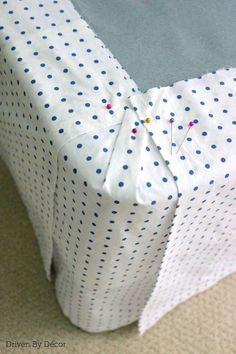 Home Ideas: DIY Custom Bedskirt From Flat Sheet