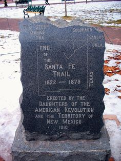 End of the Santa Fe Trail