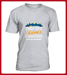 This Guy Loves Camping With His Girlfriend TShirt - Camping shirts (*Partner-Link)