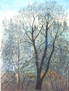 Inari Krohn This Side Of Paradise, Fade Out, Painting & Drawing, Countryside, Neutral, Clouds, Artists, Abstract, Drawings