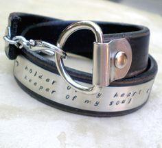 cute leather cuffs