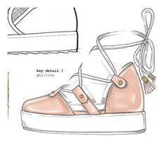 P E A C H E S &  C R E A M ... #footweardesigner #ss16