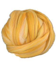 4 oz Merino wool roving,19 microns,Corn