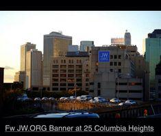 JW.Org. Banner 25 Columbia Heights