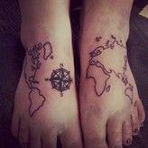 31 Incredible Map Tattoos photo - Buzznet