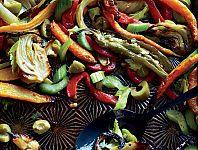 Giardiniera-style roasted vegetables