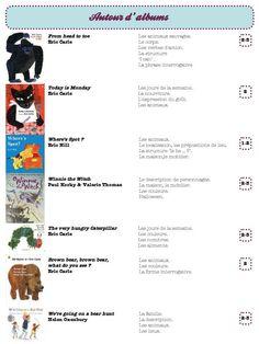 des albums pour des séquences d'anglais - Dans ma classe, il y a...