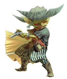 """grunler: """" Goblin with a Gun. Rpg Pathfinder, Pathfinder Character, Character Concept, Character Art, Concept Art, The Elder Scrolls, Dnd Characters, Fantasy Characters, Steampunk Characters"""