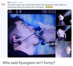 Soo gave rich boy a chance to shine in his water element   EXO - Kyungsoo, Suho