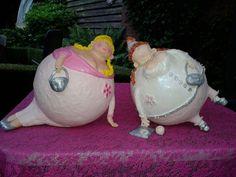 Dikke dames duo