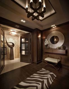 Interiors by Steven G / Luxury interior design. Some of our favorite . Luxury Homes Interior, Room Interior, Modern Interior, Home Interior Design, Interior Architecture, Interior Decorating, Interior Designing, Halls, Ceiling Design