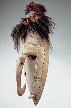 Nouvelle-Guinée - Sepik masques - LANKAART