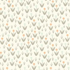 Morning Song - Dotty Blooms Ivory by Elizabeth Olwen from Cloud 9 Fabrics Morning Songs, Bloom Baby, Coordinating Fabrics, Cloud 9, Modern Fabric, Mood, Drawing, Fabric Design, Pattern Design