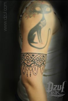 lace armband tattoo - Google Search