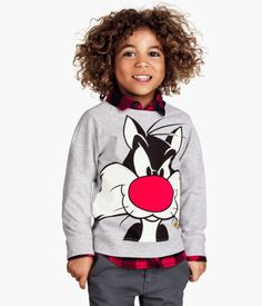 H&M Sweatshirt with Printed Design $14.95