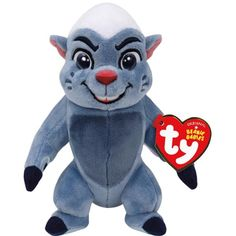 If your little one love Disney's The Lion Guard, they will love this TY Beanie Baby from their licensed Disney Collection. For ages 3 and up. Beanie Boos, Beanie Babies, Ty Plush, Pixar Characters, Honey Badger, Gifts For Kids, Smurfs, First Love, Lion