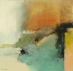 Approaching - Bob Hunt painting