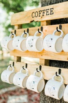 backyard micro wedding 10 Related posts:Are you planning a wedding on a budget?Photobooth made with cedar planks and paper garlandsoutdoor wedding decoration ideas with wooden pallets Wedding Favors And Gifts, Wedding Mugs, Creative Wedding Favors, Inexpensive Wedding Favors, Wedding Unique, Wedding Cake, Vegas, Boho Wedding Decorations, Wedding Wishes