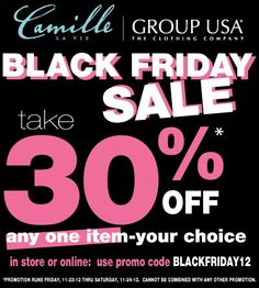 Camille La Vie & Group USA #BLACKFRIDAY Sale! Shop for Prom 2013!