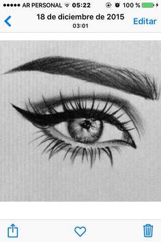 Amazing Learn To Draw Eyes Ideas. Astounding Learn To Draw Eyes Ideas. Cool Art Drawings, Pencil Art Drawings, Amazing Drawings, Art Drawings Sketches, Art Du Croquis, Eye Art, Drawing Techniques, Painting & Drawing, Drawing An Eye