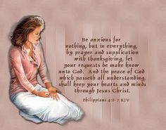 Be anxious for nothing. #infertility #infertilityscriptures #scriptures #hope #faith #prayer