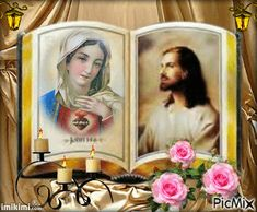 Easter Images Jesus, Jesus Mother, Jesus Photo, Religious Photos, Heart Gif, Jesus Art, Mary And Jesus, Jesus Pictures, Beautiful Gif