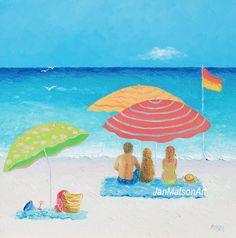 Beach decor, coastal life, beach house decorating, coastal cottage decor, beach paintings