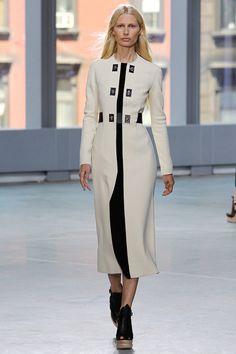 #NYFW - Runway: Proenza Schouler Spring 2014 Ready-to-Wear Collection #proenzaschouler