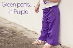 How to make GOOD looking pants