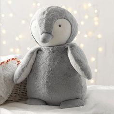 Large Snowy Penguin - Toys | Christmas | The White Company