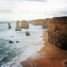 12 Apostles  #australia #victoria #greatoceanroad #travel #roadtrip #12apostles #sea #rocks #view #lookout by sarah.loves.the.ocean http://ift.tt/1ijk11S