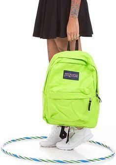 Neon Style - JanSport SuperBreak backpack